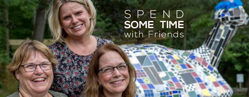 Spend some time with friends at Harris Nature Center