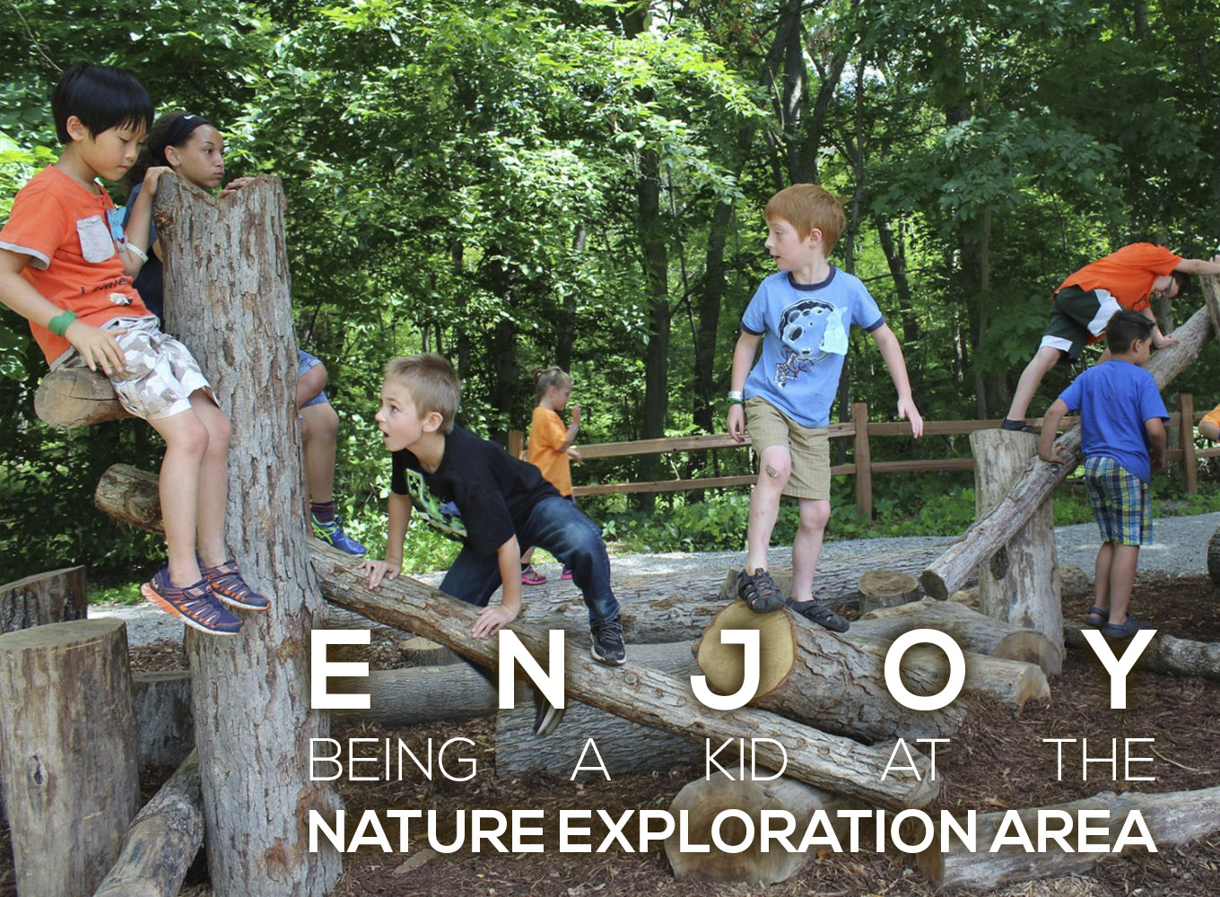 Enjoy Being A Kid at the Nature Exploration Area