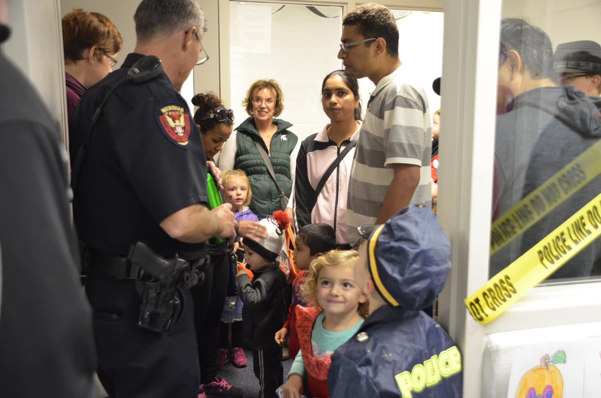 Halloween Open House 2017 at Police Building