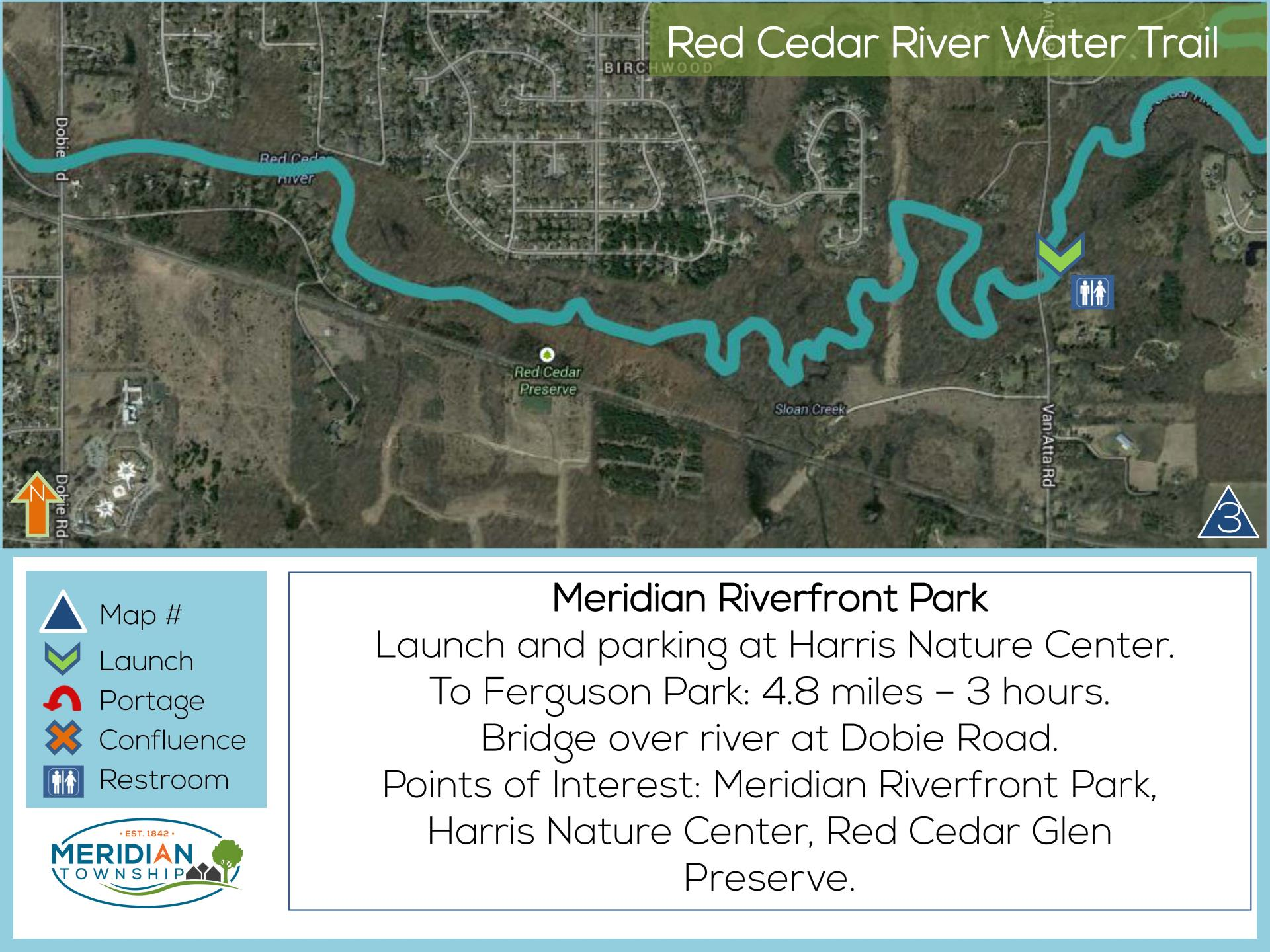 Take a trip along the red cedar river meridian township mi meridian riverfront park water trail sciox Images