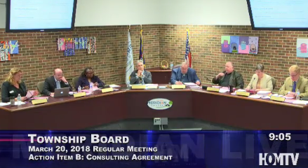 Township Board Approves Consulting Agreement