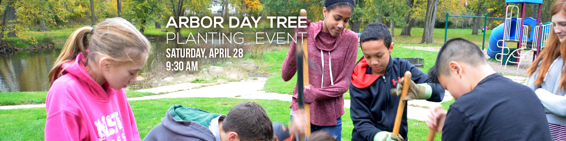 Arbor Day homepage banner