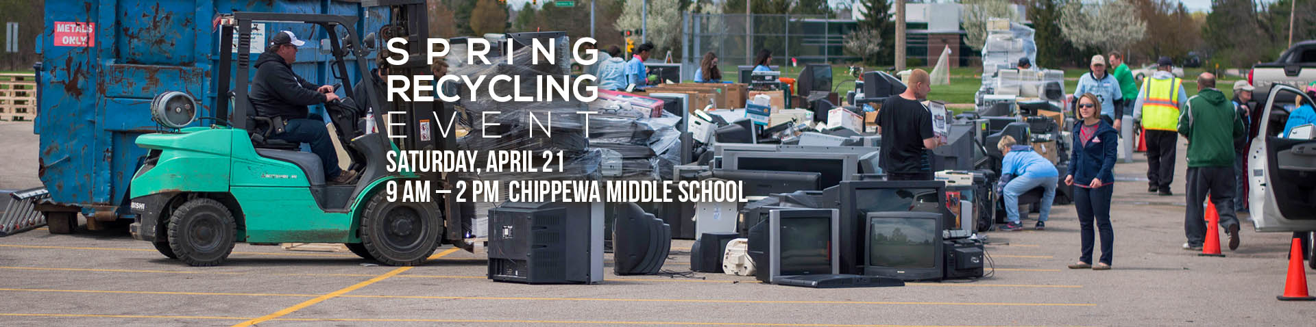 Recycling Event homepage banner