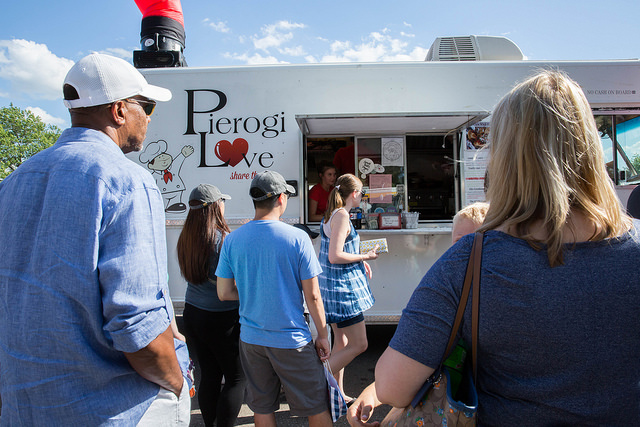 Pierogi love indy food truck