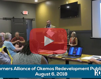 Four Corners Alliance of Okemos Redevelopment Public Forum