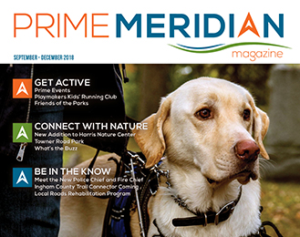 Prime Meridian Magazine Being Delivered