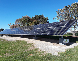 Meridian Township Constructs New Solar Array