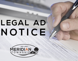 Public Hearing Notice | Here's What's Happening | Meridian