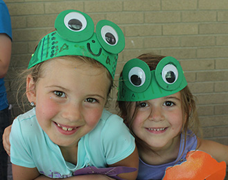 Frogs and Friends Camp at Harris Nature Center