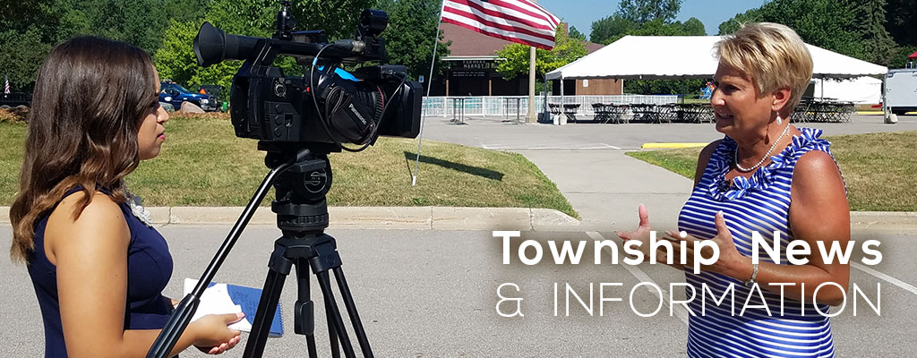 Township News and Information Banner