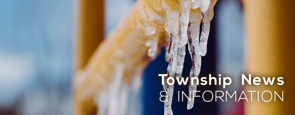 Township News and Information Banner winter
