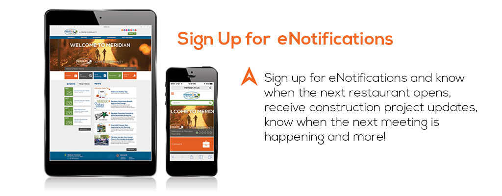 Sign Up for eNotifications