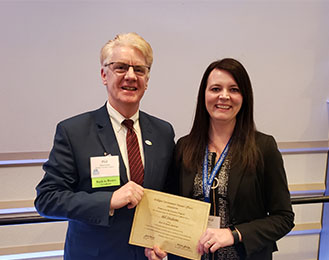 Treasurer Deschaine Earns Certification