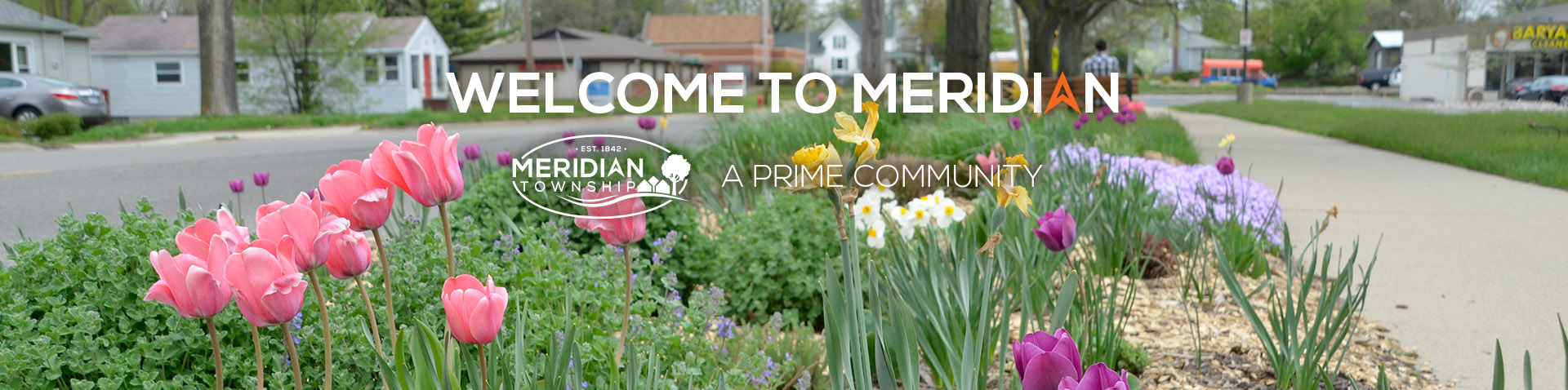 Spring Welcome Banner