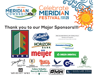 Thank You to Celebrate Meridian Sponsors!