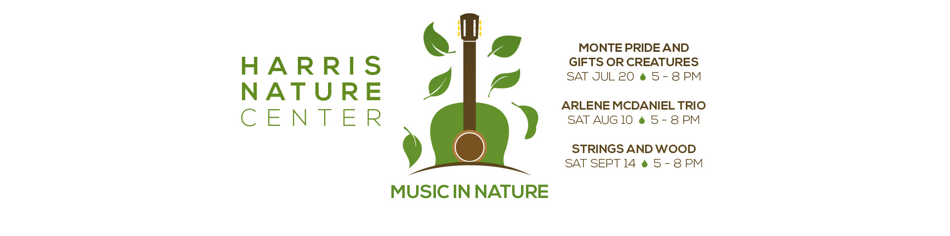 Music in Nature banner