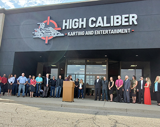 High Caliber Karting and Entertainment Ribbon Cutting Ceremony