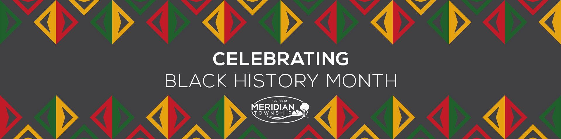 Black History Month homepage banner