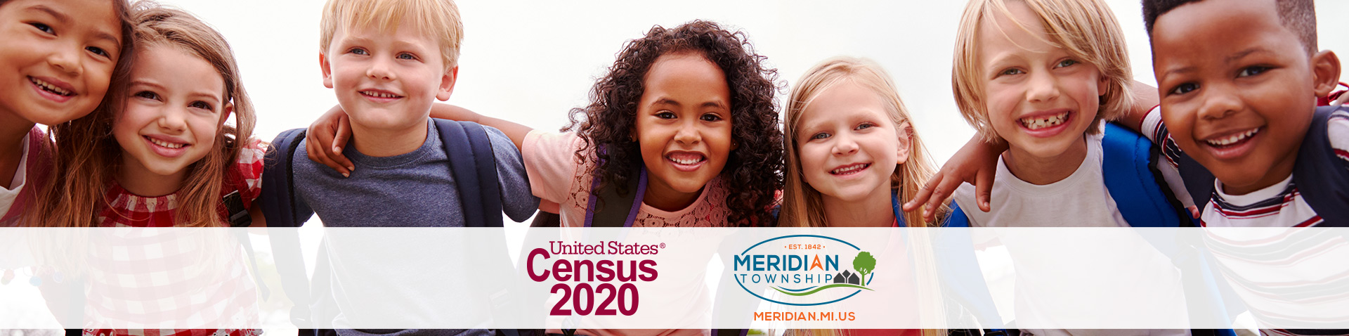 Census kids homepage banner