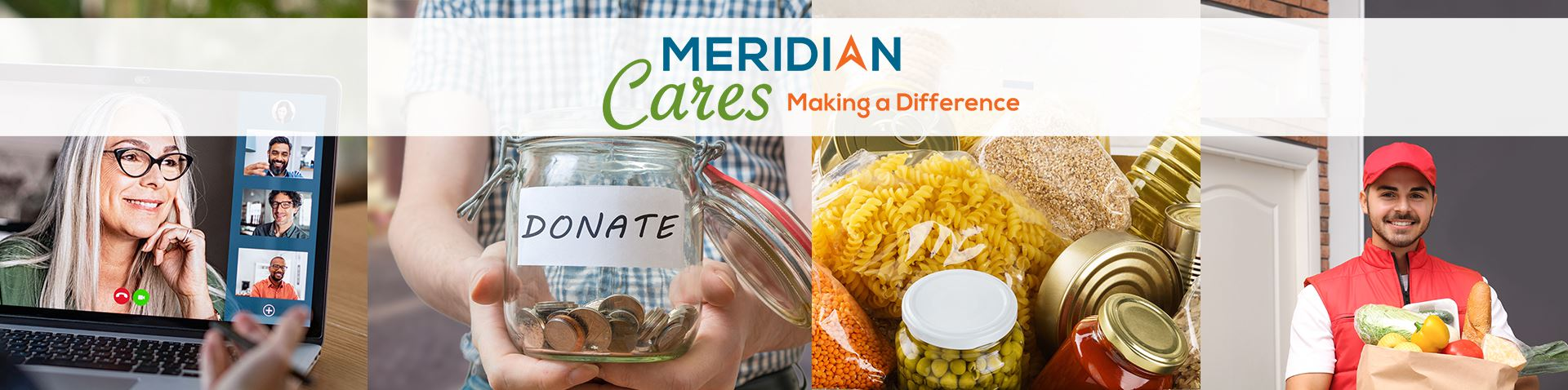 Meridian Cares Homepage Banner