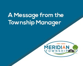 A Message from the Township Manager